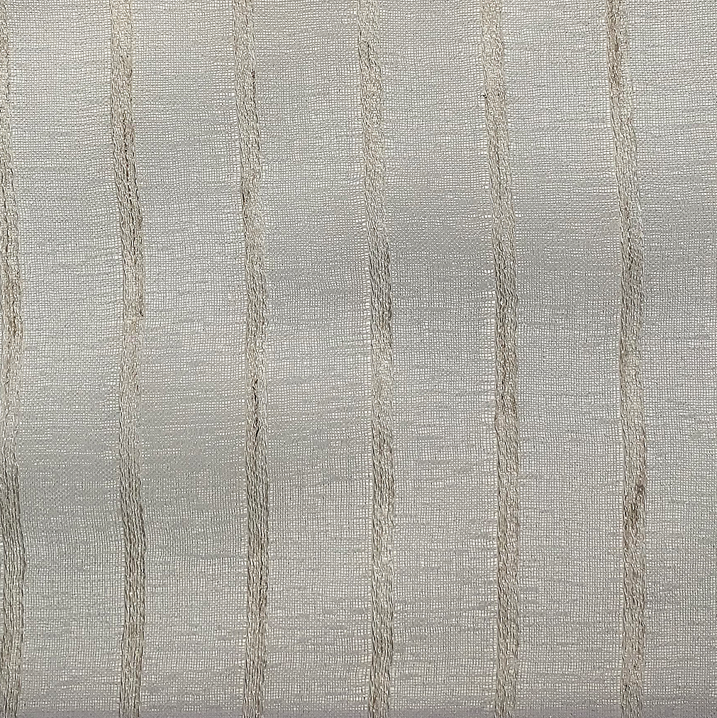 Sheers 97% Polyester + 3% Linen