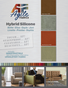 Agile Fabrics Hybrid Silicone Brochure