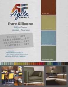 Agile Fabrics Pure Silicones Brochure