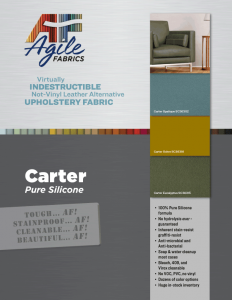 Agile Fabrics Carter Brochure and Specifications