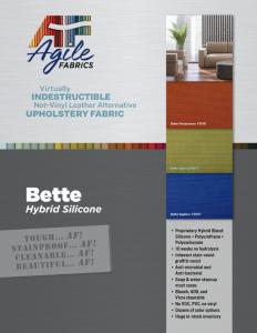 Agile Fabrics Hybrid Bette Brochure