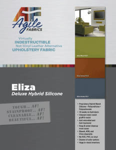 Eliza Hybrid Silicone Brochure and Specifications