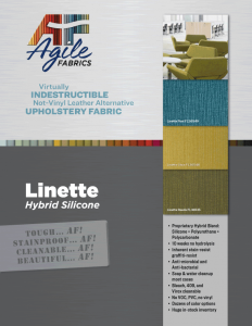 Agile Fabrics Linette Hybrid Brochure and Specifications