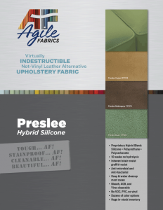 Agile Fabrics Preslee Hybrid Silicone Brochure and Specifications