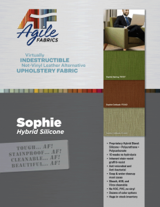 Agile Fabrics Sophie Hybrid Silicone Brochure and Specifications