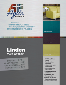 Agile Fabrics Linden Brochure and Specifications