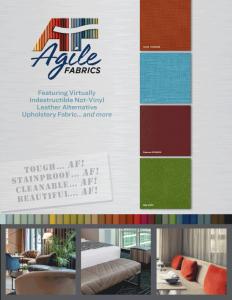 Agile Fabrics Company Brochure