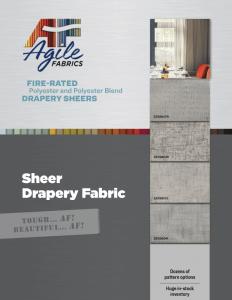 Agile Sheers Brochure